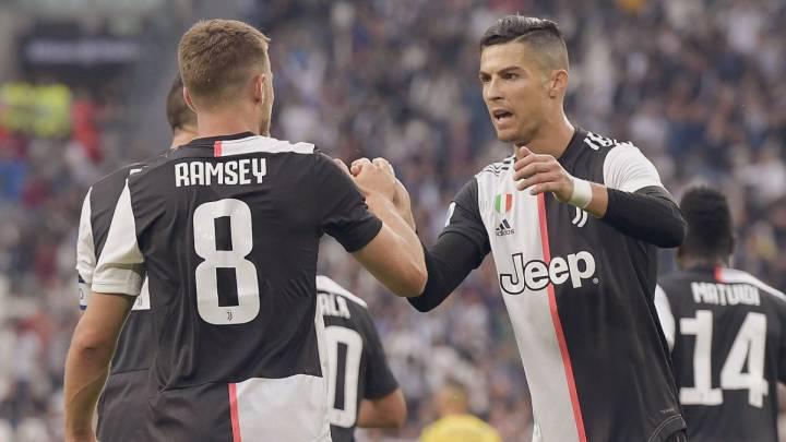 """Ramsey y el día que conoció a Cristiano: """"Ven y siéntate..."""""""