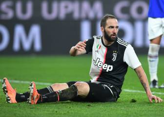 Juve could cancel Higuaín's contract over Argentina stay