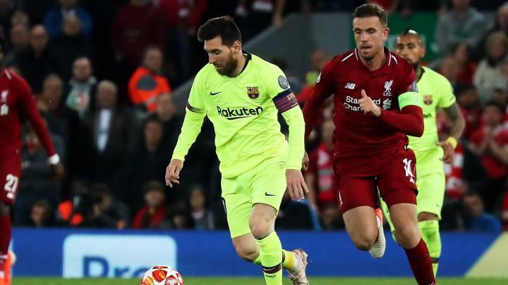 Henderson desvela por qué no le pidió la camiseta a Messi