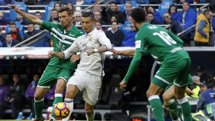 La tarde que el Leganés se hizo inmune a Cristiano Ronaldo