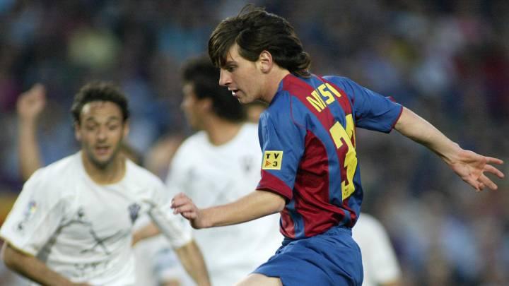 El Albacete fue la primera víctima de Messi y Torres