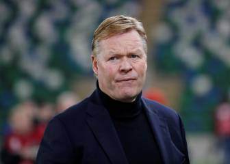 Ronald Koeman brought to hospital with chest pains