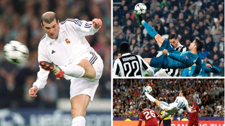 Para France Football, el gol de volea de Zidane es el más bonito de la historia de la Champions.