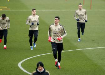 Awarding Barcelona league title wouldn't be fair, says Courtois