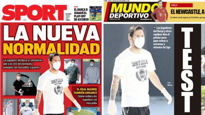 La 'nueva normalidad' de Messi