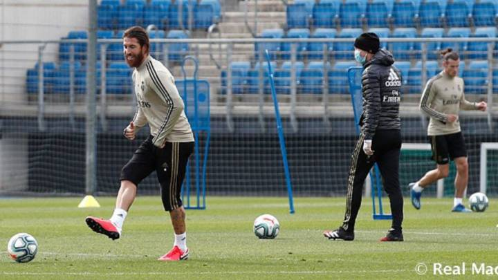 Real Madrid return to training after coronavirus shutdown