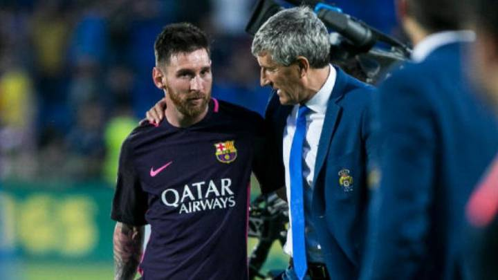 Los mensajes de Messi