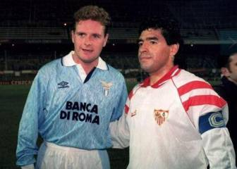 When Maradona met Gazza