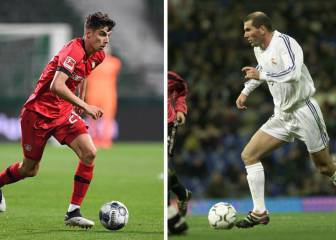 Havertz, el Zidane zurdo