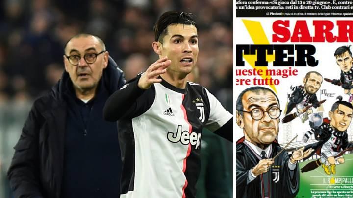 La magia de 'Sarri Potter' para triunfar con la Juventus