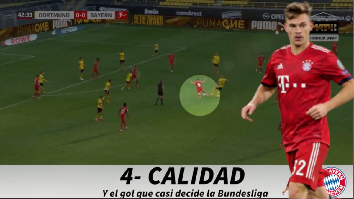 El recital desglosado de Kimmich para ganar media Bundesliga - AS Colombia