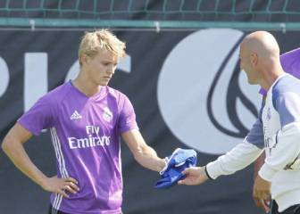 Odegaard future comes down to Zidane plans