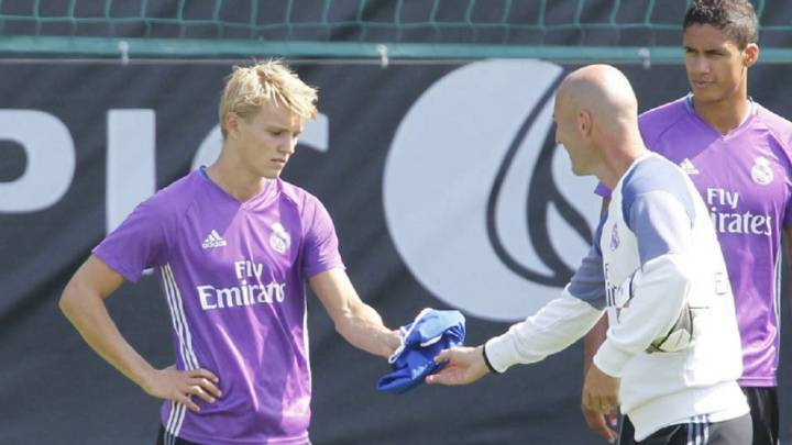 Real Madrid: Odegaard future comes down to Zidane plans