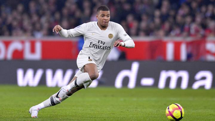 Kylian Mbappé valued at 177 million euro