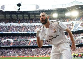 Benzema to lead the line for Real Madrid on his own