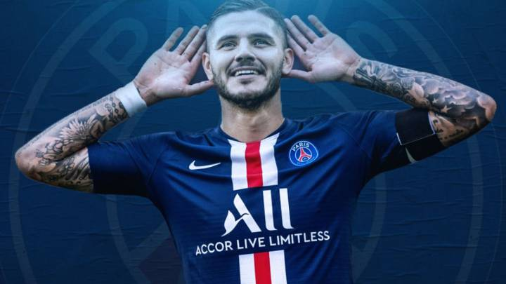 Icardi Psg Sign Striker On Permanent Deal From Inter Milan As Com