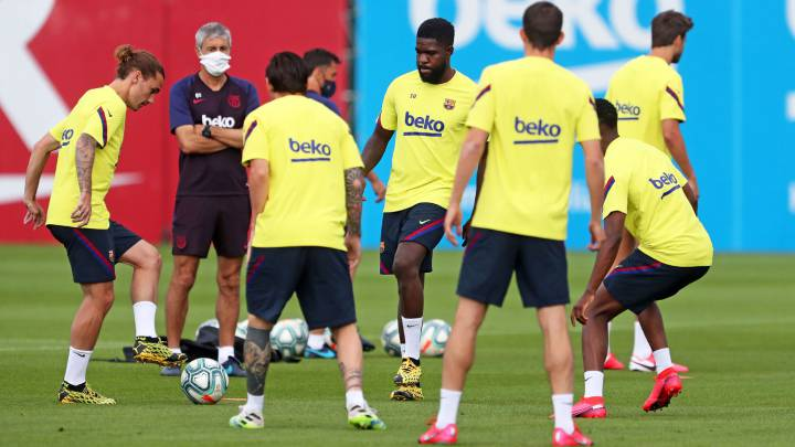 Five Barcelona players and two coaches tested positive for coronavirus - RAC1