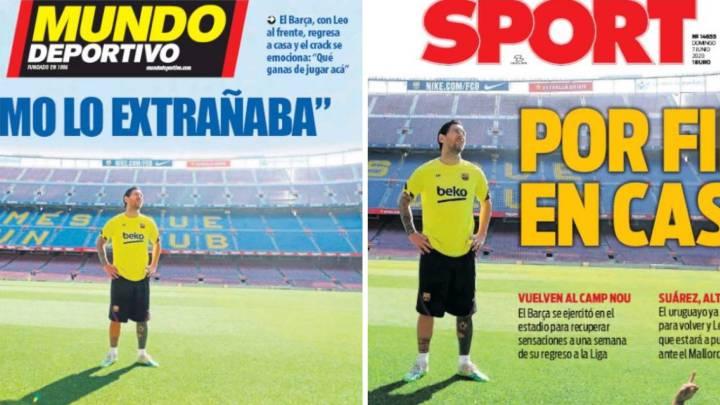 Messi, la foto de la esperanza