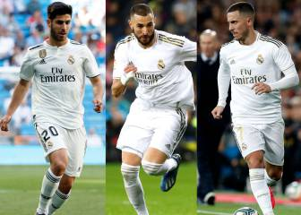 Zidane hoping to play his favoured attacking trio together