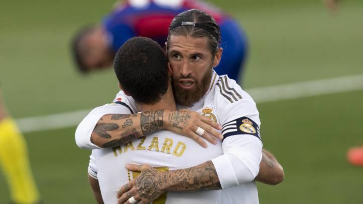 Ramos, más goles que Iniesta, Busquets y Puyol juntos