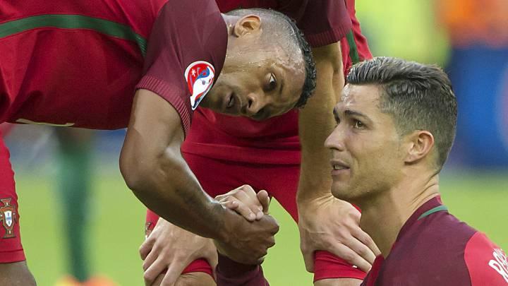 """Nani recuerda la lesión de Cristiano en la Euro: """"Me entraron escalofríos y tristeza"""""""