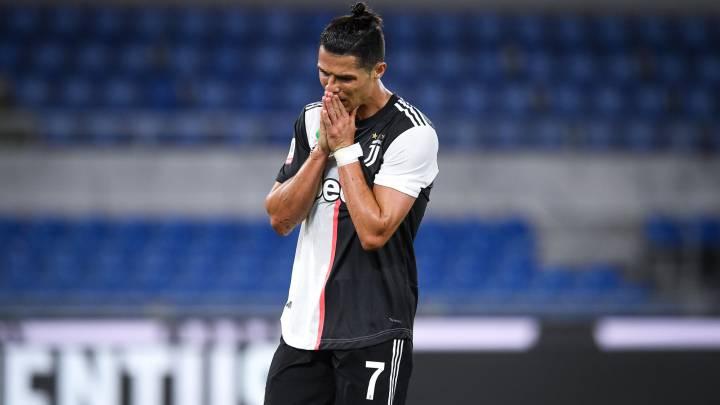 La crisis de la Juve afecta a Cristiano: nunca había perdido dos finales