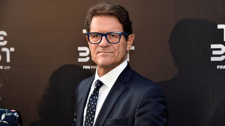 El exentrenador italiano, Fabio Capello.