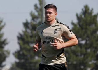 Jovic regresa al césped