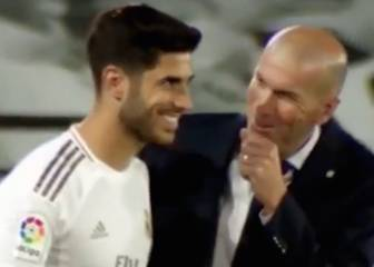 Asensio reveals what Zidane said on Real Madrid return
