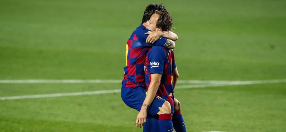 Rakitic resucita al Barcelona