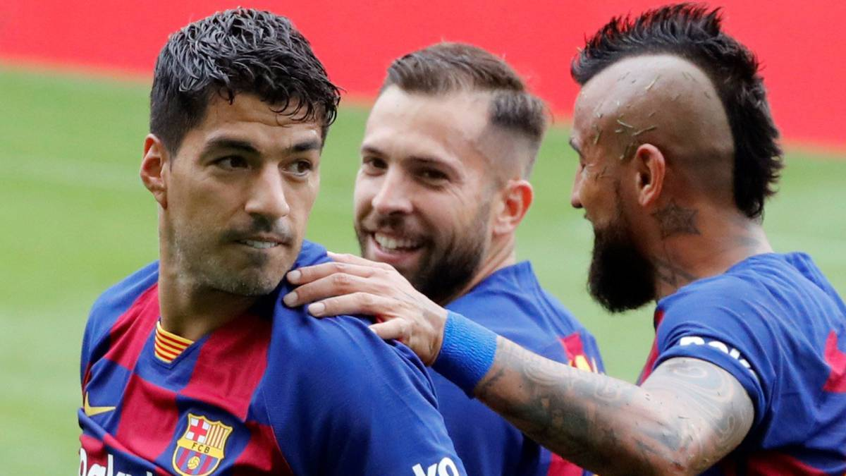 Luis Suárez: 'What's up with our away type? Ask the coaches' - AS English thumbnail