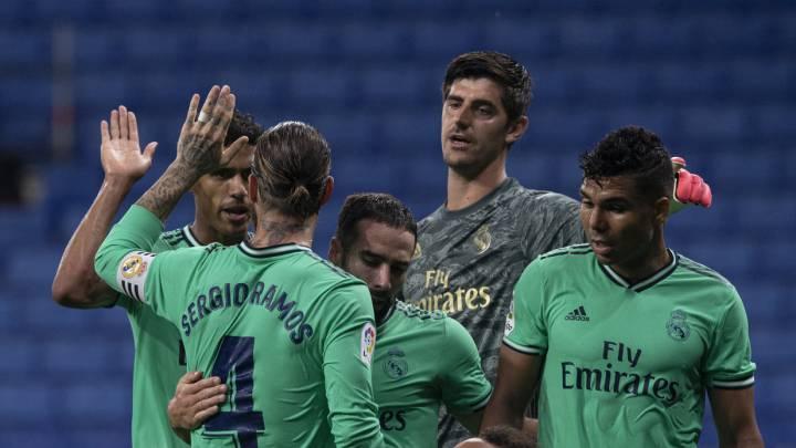 Posible alineación del Real Madrid hoy contra el Getafe en LaLiga