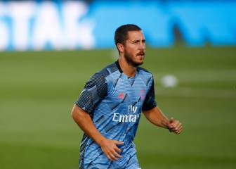 Real Madrid squad for Athletic: no Hazard, Varane or James