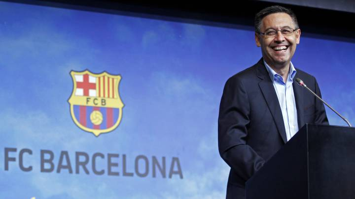 """Bartomeu: """"Messi está tranquilo; renovará con el Barça"""""""