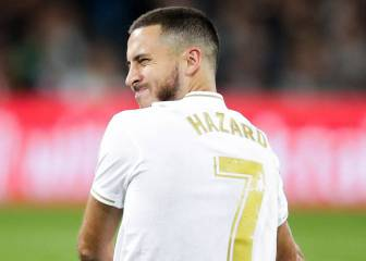 Eden Hazard feeling renewed pain in troublesome ankle