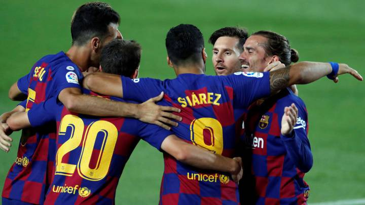 Barcelona player ratings vs Espanyol as Suárez secures win