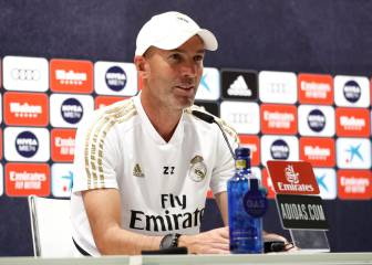 Zidane press conference: Real boss on Barça, Hazard, James...