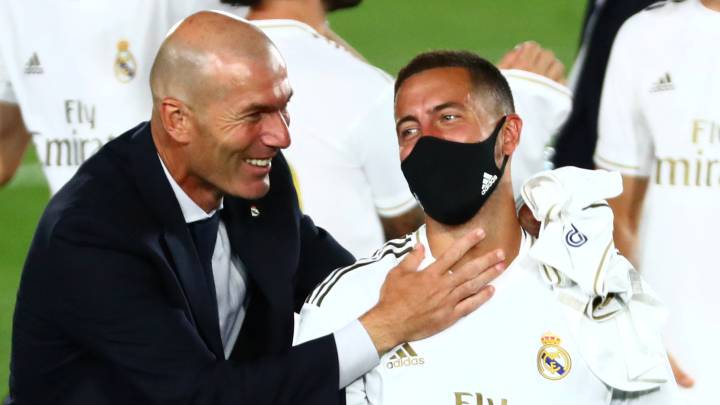 "Real Madrid: Hazard bemoans ""worst season of career"""