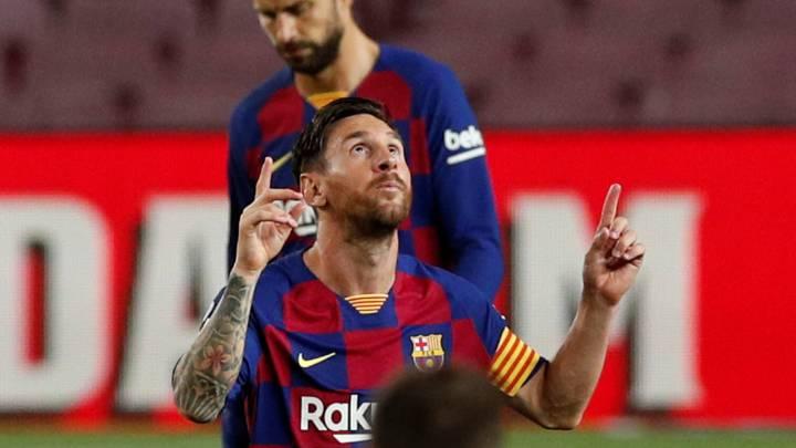 Messi, leyenda: ya está solo en el trono de Zarra