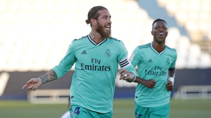 Real Madrid: Sergio Ramos reaches 100 goals at club level