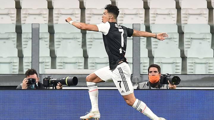 Cristiano, primer jugador en marcar 50 goles en Premier, Liga y Serie A.