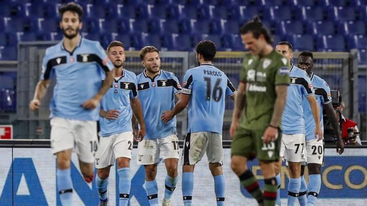 La Lazio vuelve a la Champions, Immobile supera a Cristiano