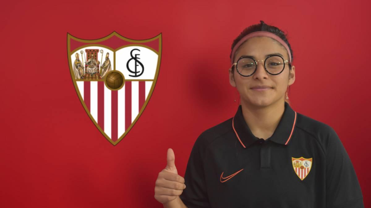 FÚTBOL FEMENINIO La chilena Javiera Toro nueva lateral zurda del Sevilla -  AS.com