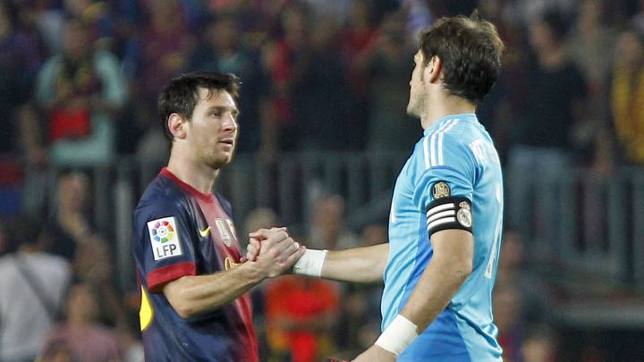 "Casillas retires: Messi hails ""really tough opponent"" in AS"