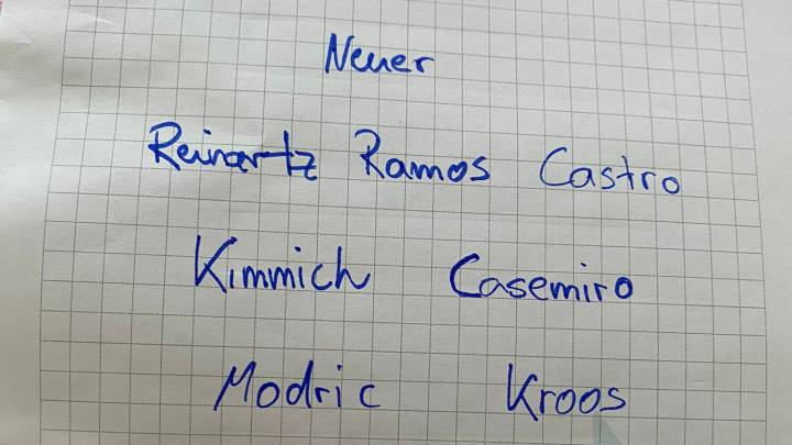 Kroos elige el once con el que jugaría en su despedida