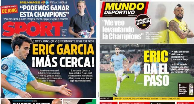 Portadas de Sport y Mundo Deportivo de este viernes 7 de agosto de 2020.