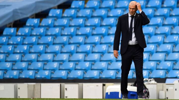 Zidane's decision-making causing concern at Real Madrid