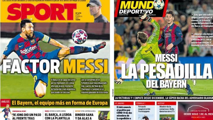 Messi como amenaza