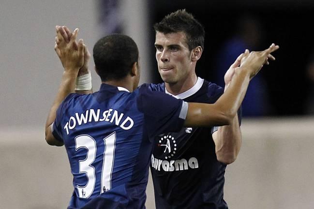 Bale y Townsend, durante un partido con el Tottenham.