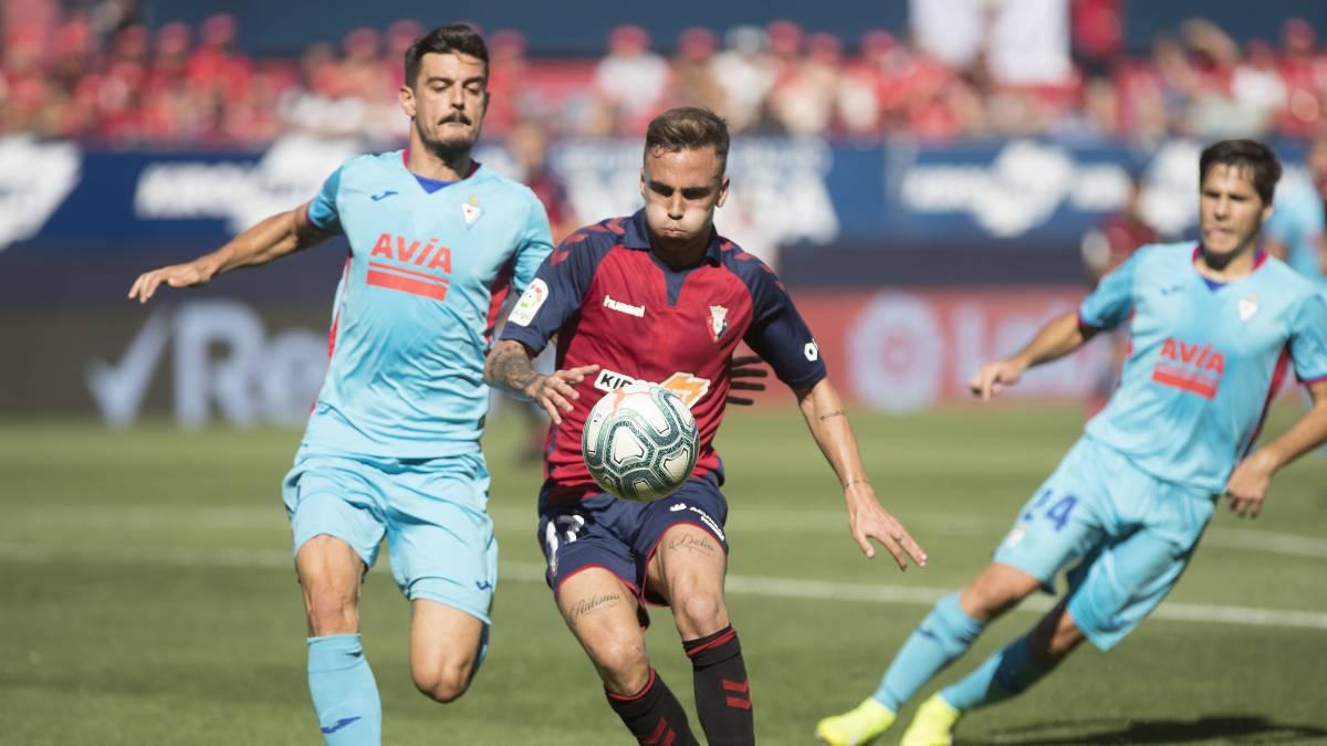 Osasuna cierra un amistoso con el Eibar en pretemporada
